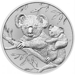 2 oz silver KOALA & BABY 2018 The Next Generation $2