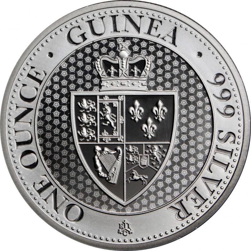 1 Oz Silver The Spade Guinea 2018 East Indian Company 163 1
