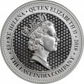 1 oz silver THE SPADE GUINEA 2018 EAST INDIAN COMPANY £1