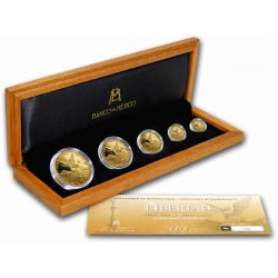 Mexico 5-Coin Gold Libertad 2016 Proof Set