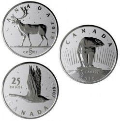 2018 FINE SILVER 3-COIN SET - CANADA: THE COINS THAT NEVER WERE