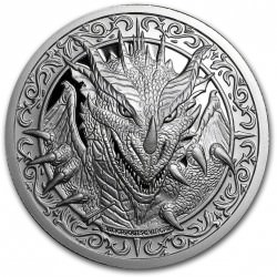 2 oz Silver Round - Destiny Knight: The Dragon