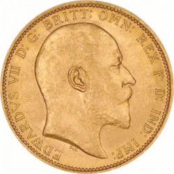 FULL GOLD SOVEREIGN 1906