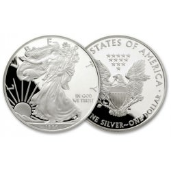 1 oz silver Eagle 1986 Proof