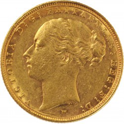 FULL GOLD SOVEREIGN 1891
