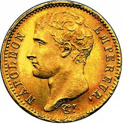 GOLD 20 francs or Napoleon 1