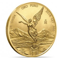 1/4 oz gold LIBERTAD 2018