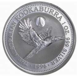 1 oz silver KOOKABURRA 1996 Privy Eifel Tower