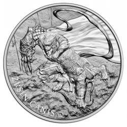 1 oz silver ZI:SIN Canis 2018 South Korea