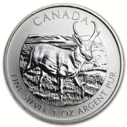1 oz silver Maple Leaf 2013 ANTELOPE