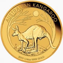 1/4 oz GOLD NUGGET 2019 BU $25