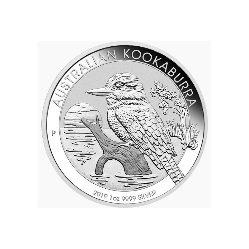 1 Oz Silver Kookaburra 2019 1 Goldsilver Be
