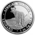 1 oz silver SOMALIA LEOPARD 2018 - 100 shillings