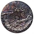 Rare Earth 2018 5oz Silver High Relief Patina Coin