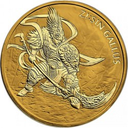 1 oz GOLD Sin Gallus 2017 South Korea