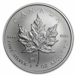 1 oz silver Maple Leaf 2015 Privy
