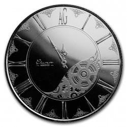 1 troy oz silver CHRONOS 2018 and for ever