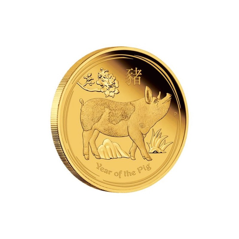 Australian Lunar Series Ii 2019 Year Of The Pig 1 Oz Gold