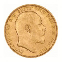 FULL GOLD SOVEREIGN 1902