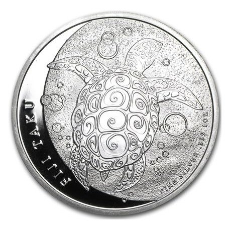 5 Oz Silver Fiji Taku 2013 Turtle Goldsilver Be