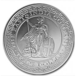 1 oz silver BRITISH TRADE DOLLAR St HELENA 2018