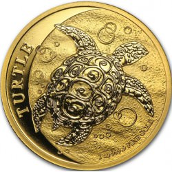 1 oz GOLD NIUE TURTLE 2015