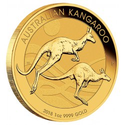 1 oz gold NUGGET 2019 KANGAROO