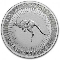 1 oz Platinum KANGAROO 2021 $100