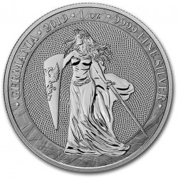 MEDAL 1 oz silver GERMANIA 2019