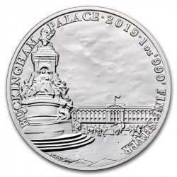 1 oz silver BUCKINGHAM PALACE 2019 - Landmarks of Britain