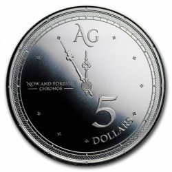 1 troy oz silver CHRONOS 2019 and for ever
