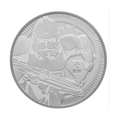 1 oz silver NIUE 2019 CLONE TROOPER