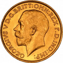 FULL GOLD SOVEREIGN 1926