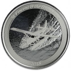 1 oz silver LOBSTER 2018 Eastern Caribbean N°6 / 8