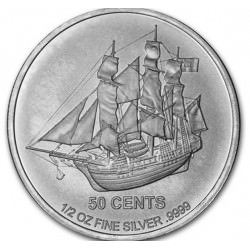 1/2 oz silver COOK ISLANDS 2015