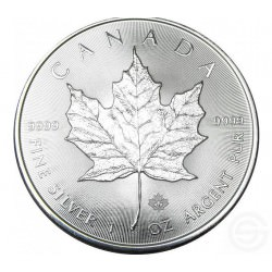 BUY-BACK SILVER Maple Leaf 1 oz