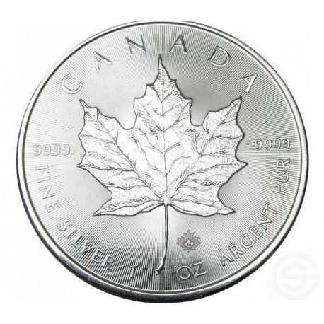 Aankoop Zilver Maple Leaf 1 Oz Goldsilver Be