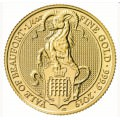 1/4 oz gold QUEEN'S BEAST 2019 The THE YALE OF BEAUFORT