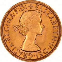 FULL GOLD SOVEREIGN 1959