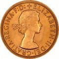 FULL GOLD SOVEREIGN 1957