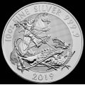 10 oz The 2018 Silver Valiant Silver Bullion Coin
