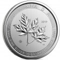 10 oz silver MAGNIFICENT MAPLE LEAF 2018