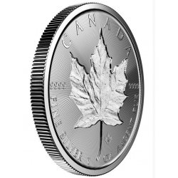 1 oz silver Incuse Maple Leaf 2019 Canada
