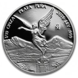 MEXICO 1/10 oz silver LIBERTAD 2019 PROOF
