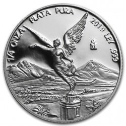 MEXICO 1/4 oz silver LIBERTAD 2019 PROOF