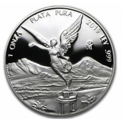 MEXICO 1 oz silver LIBERTAD 2019 PROOF