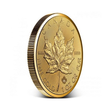 Gold INCUSE Maple Leaf 1 oz 2019 $50