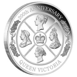 Queen Victoria 200th Anniversary 2019 1oz Silver Proof Coin