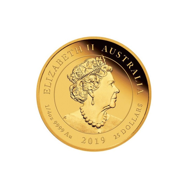 Queen Victoria 200th Anniversary 2019 1 4oz Gold Proof