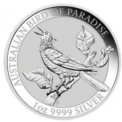 1 oz silver Bird of Paradise Manucodia 2019
